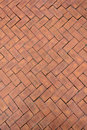 Red brick paving stones Royalty Free Stock Photo