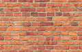 Red Brick Seamless Texture Stock Image