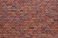 A red brick wall Royalty Free Stock Photos
