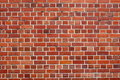 Picture : Red brick wall  shaped wall
