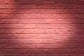 Red brick wall backdrop background and texture Stock Photos