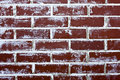 Red Brick Wall Background Stock Image