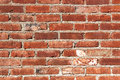 Red brick wall background aged Stock Photography