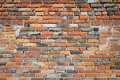 Red brick wall background interior texture pattern Royalty Free Stock Photo