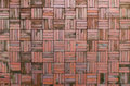 Red brick wall background old Stock Photo