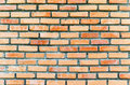 Red brick wall background texture Stock Photo