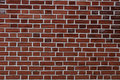Red brick wall background - texture pattern