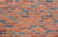 Detail of the brick walls