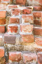 Red brick wall detail Royalty Free Stock Image
