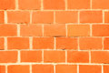 Red brick wall new texture close up Stock Image
