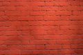 Red brick wall pattern background. Royalty Free Stock Photo
