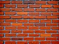 Red brick wall pattern for background or texture for the idea of building the walls of the house Royalty Free Stock Photo