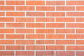 Red brick wall series of background texture Royalty Free Stock Image
