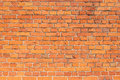 Red brick wall texture Royalty Free Stock Images