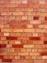 A red brick wall texture background Stock Photography