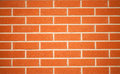 Red bricks the great wall of Royalty Free Stock Images