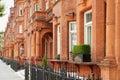 Red Bricks Houses In London, E...