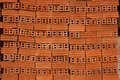 Red bricks for its construction of structures and buildings Royalty Free Stock Photos