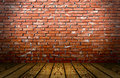 Red Bricks Stage Royalty Free Stock Photo