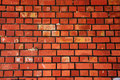 Red bricks texture Royalty Free Stock Image