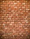 Red bricks wall Royalty Free Stock Photos