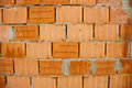 Red bricks wall Royalty Free Stock Images