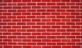 Red bricks wall Royalty Free Stock Photo