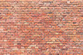 Red brickwall background Royalty Free Stock Photo