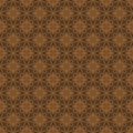 Red brown colors flower pattern design korean traditional series Royalty Free Stock Image