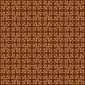 Red brown colors geometry pattern korean traditional pattern de design series Stock Image