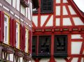 Successful renovation of 2 very beautiful half-timbered houses detail