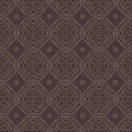 Red brown square grid pattern korean traditional design series Stock Photo