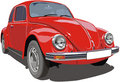 Red `Bug` Royalty Free Stock Photos