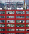 Red building Stock Image