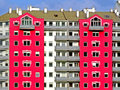 Red building Royalty Free Stock Images