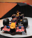 Red Bull emballant RB7 Renault Photo libre de droits