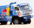 Red Bull team at Rally Dakar 2013 Stock Photography