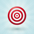 Red bullseye Royalty Free Stock Photo