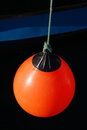 Red buoy Stock Image