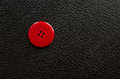Red button a large on a black background Royalty Free Stock Photos
