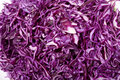 Red cabbage close up of Royalty Free Stock Photo