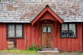 Red Cabin Royalty Free Stock Photo