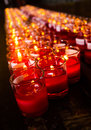 Red candle Royalty Free Stock Image