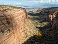 Red Canyon, Colorado National Monument Royalty Free Stock Photo