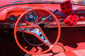 Red car interior Royalty Free Stock Photo