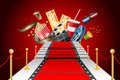 Red Carpet Entertainment Royalty Free Stock Image