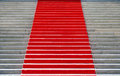 Red carpet of the konzerthaus in berlin Royalty Free Stock Image