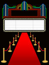 Red Carpet Premier Marquee/eps Stock Photo