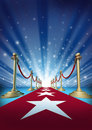 Red Carpet To Movie Stars Royalty Free Stock Photos