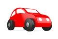 Red Cartoon Toy Car